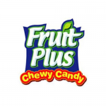 Fruit plus chewy candy logo