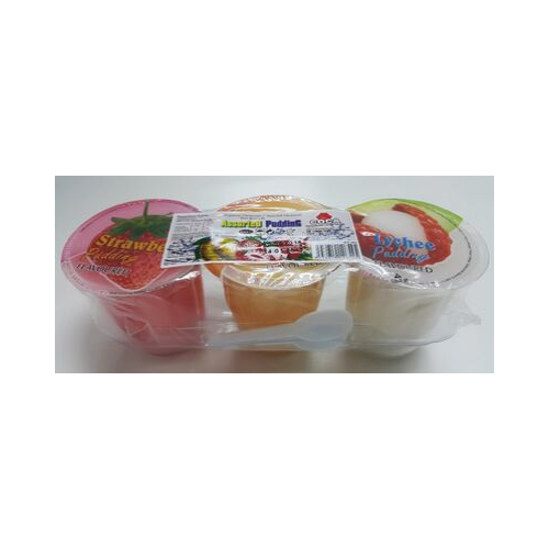 Coca assorted puding 3s
