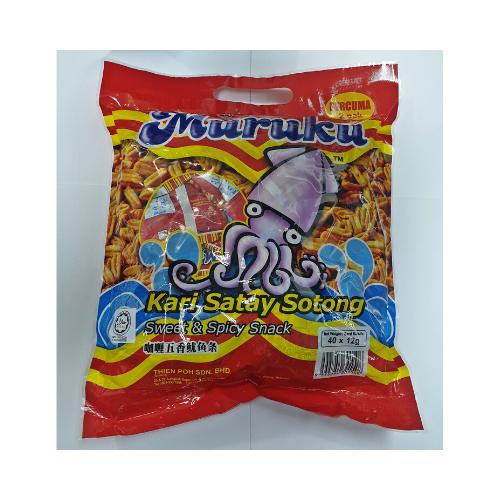 TP Muruku Kari Satay Sotong 40's