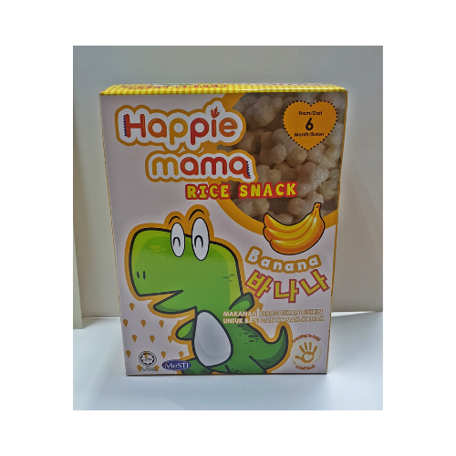 happie mama rice snack banana