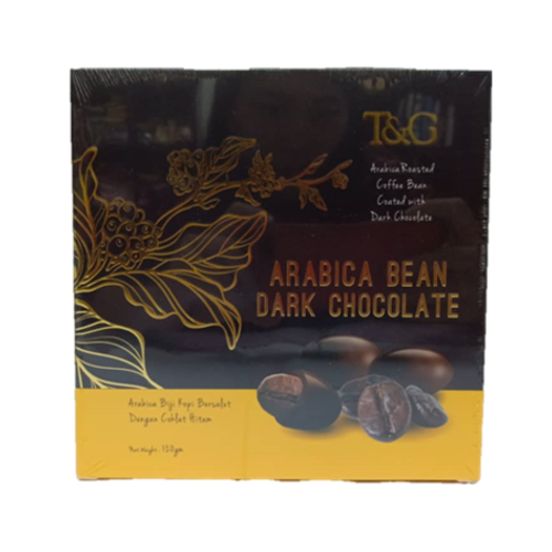 TG ARABICA BEAN DARK CHOCOLATE 120G