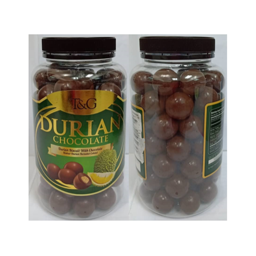TG DURIAN CHOCOLATE 500G