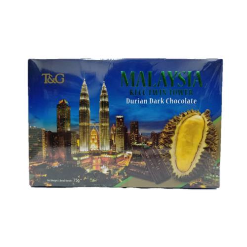 TG MALAYSIA KLCC TWIN TOWER (DURIAN DARK CHOCOLATE