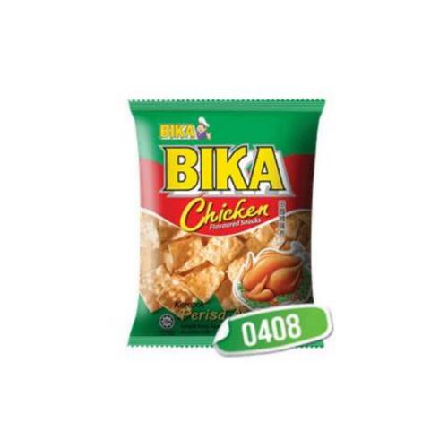 bika chicken green snack