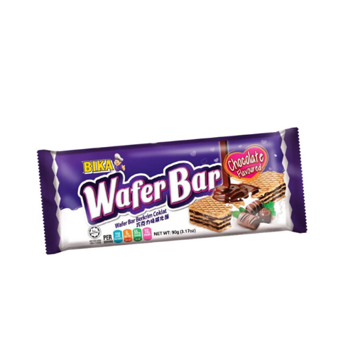 bika chocolate wafer bar