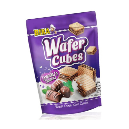 bika chocolate wafer cube