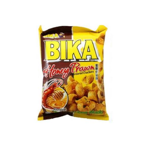 bika honey prawn cracker