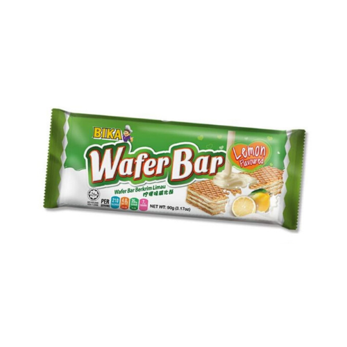 bika lemon wafer bar