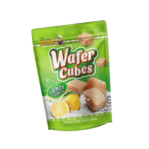 bika lemon wafer cube