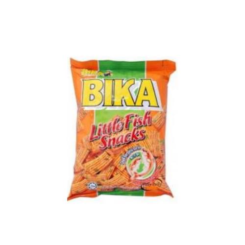 bika little fish snacks - anchovies