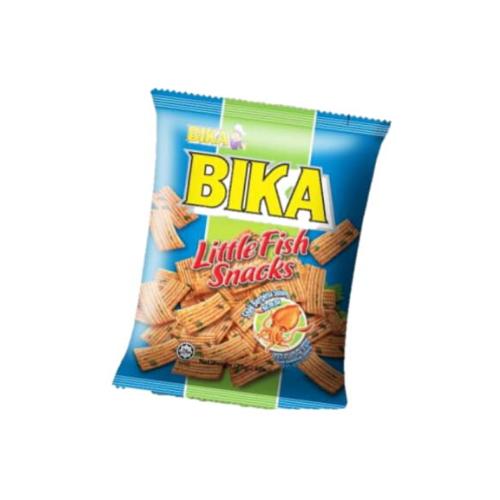bika little fish snacks - cuttlefish