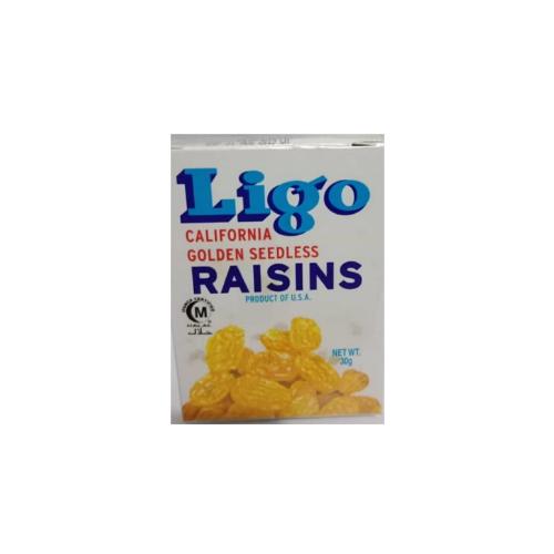 ligo yellow raisins