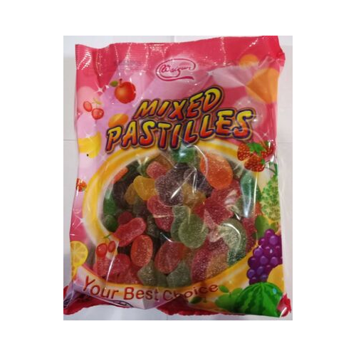 mixed pastiles soft jelly sweet 900g