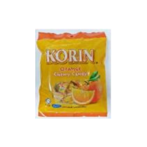 korin chewy candy orange
